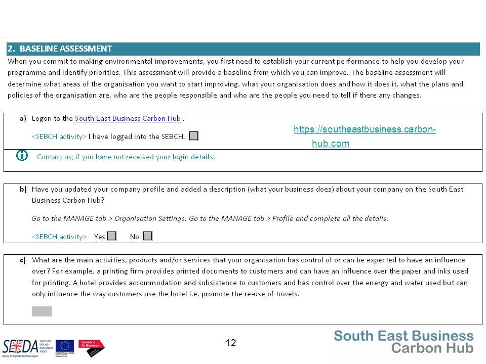 12 https://southeastbusiness.carbon- hub.com