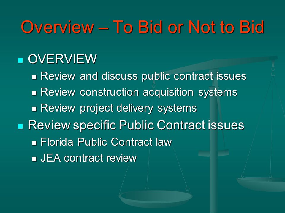 Public Contract Review Contract Review Contract Review Make a working copy of the contract.