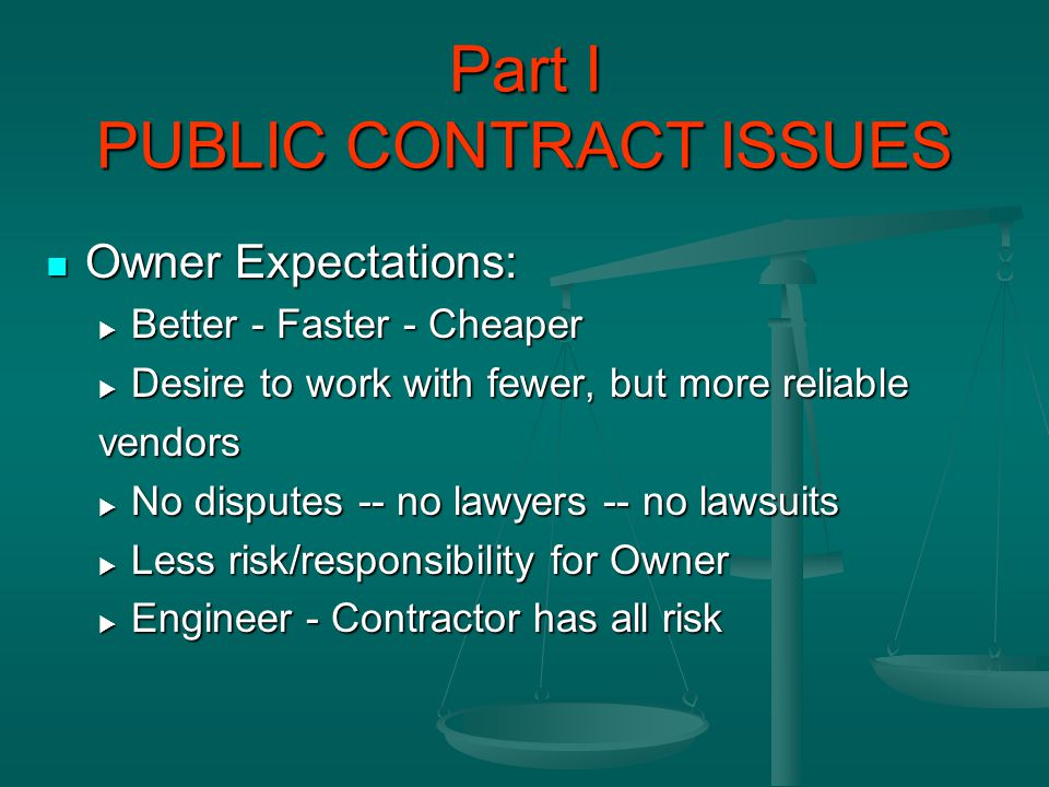 PUBLIC CONTRACTS FLORIDA PUBLIC CONTRACTS FLORIDA CCNA CCNA Establishes both the process and the criteria to be used in selecting professional services Establishes both the process and the criteria to be used in selecting professional services For a project For a project The Contractor may not hire an engineer or architect to get around this statute The Contractor may not hire an engineer or architect to get around this statute