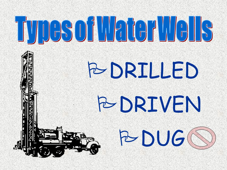  Provide well that meets needs of owner  Obtain highest yield with minimal drawdown (consistent w/ aquifer capabilities)  Provide suitable quality water (potable and turbidity-free for drinking water wells)  Provide long service life (25+ years) NEW: Minimize impacts on neighboring wells & aquatic environments