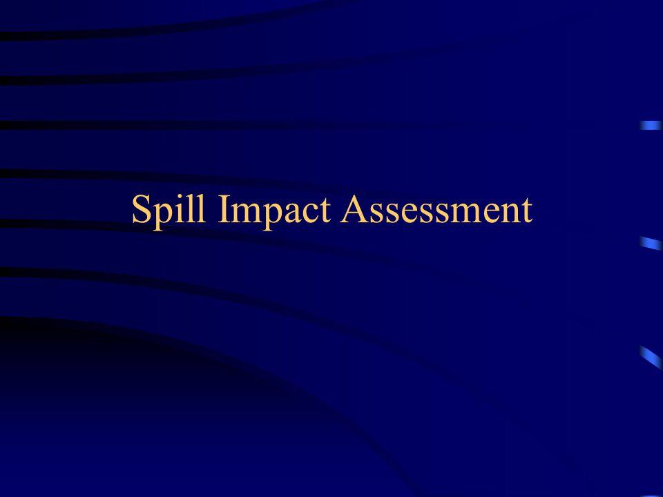 Spill Impact Assessment