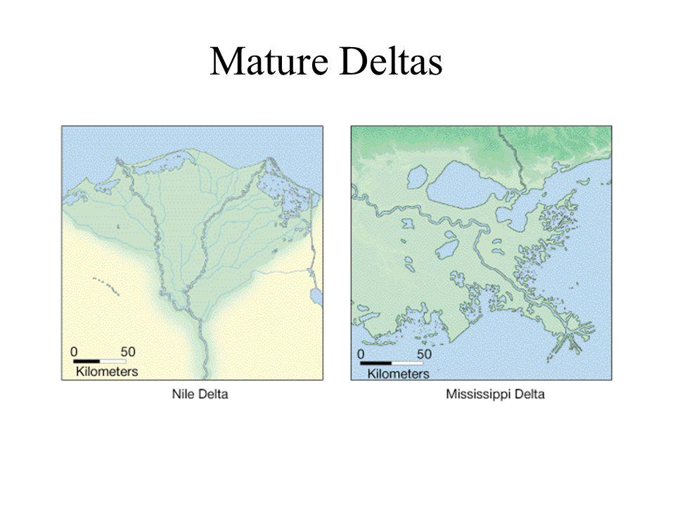 Mature Deltas