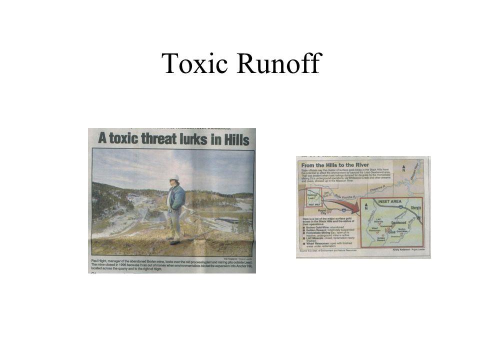 Toxic Runoff