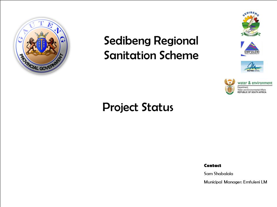  Project Objectives  Project Background before PPMO  Actions taken by PPMO  Professional Team  Roadmap  Delivered and Outstanding items  Priority Support Intervention Issues and Risks  Transitional Challenges  Integration of approaches  Support to Emfuleni