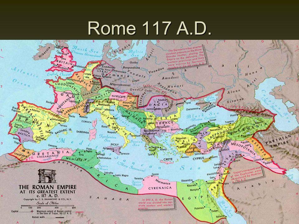 Rome 117 A.D.