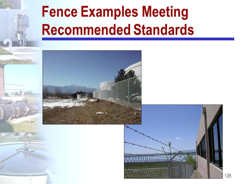 135 Fence Examples Meeting Recommended Standards