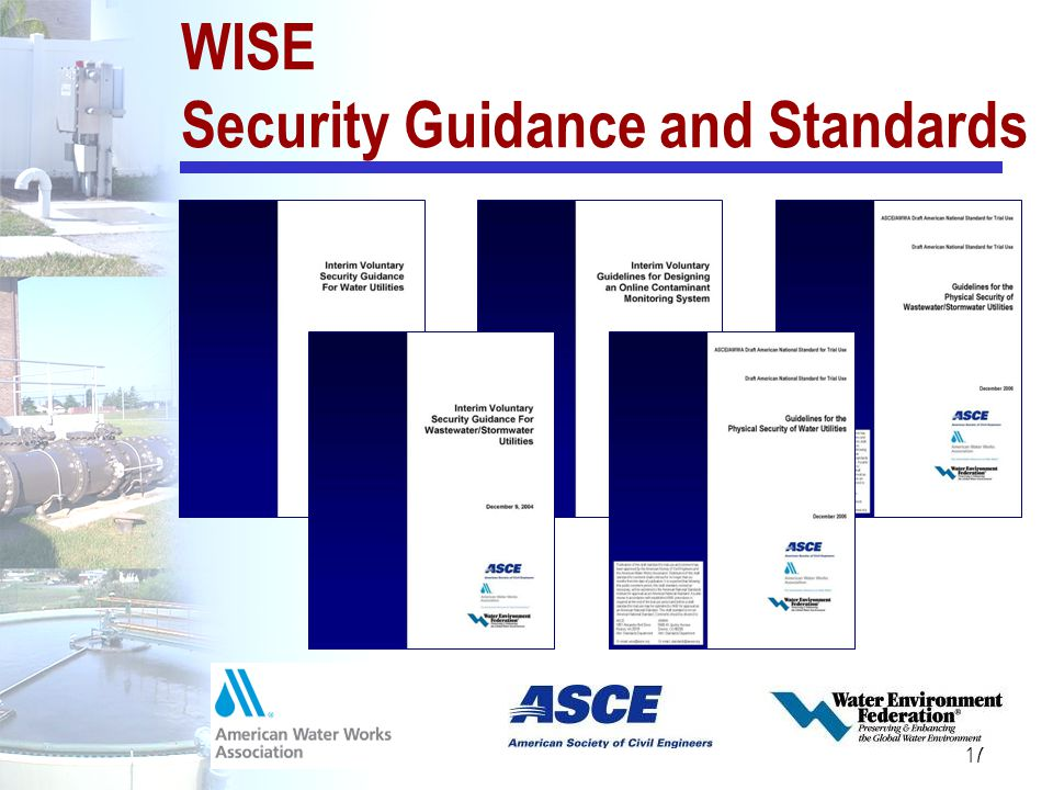 17 WISE Security Guidance and Standards