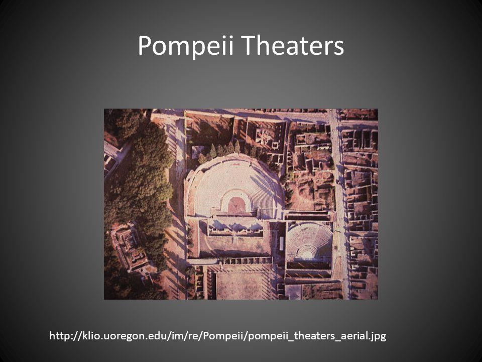 Pompeii Theaters http://klio.uoregon.edu/im/re/Pompeii/pompeii_theaters_aerial.jpg