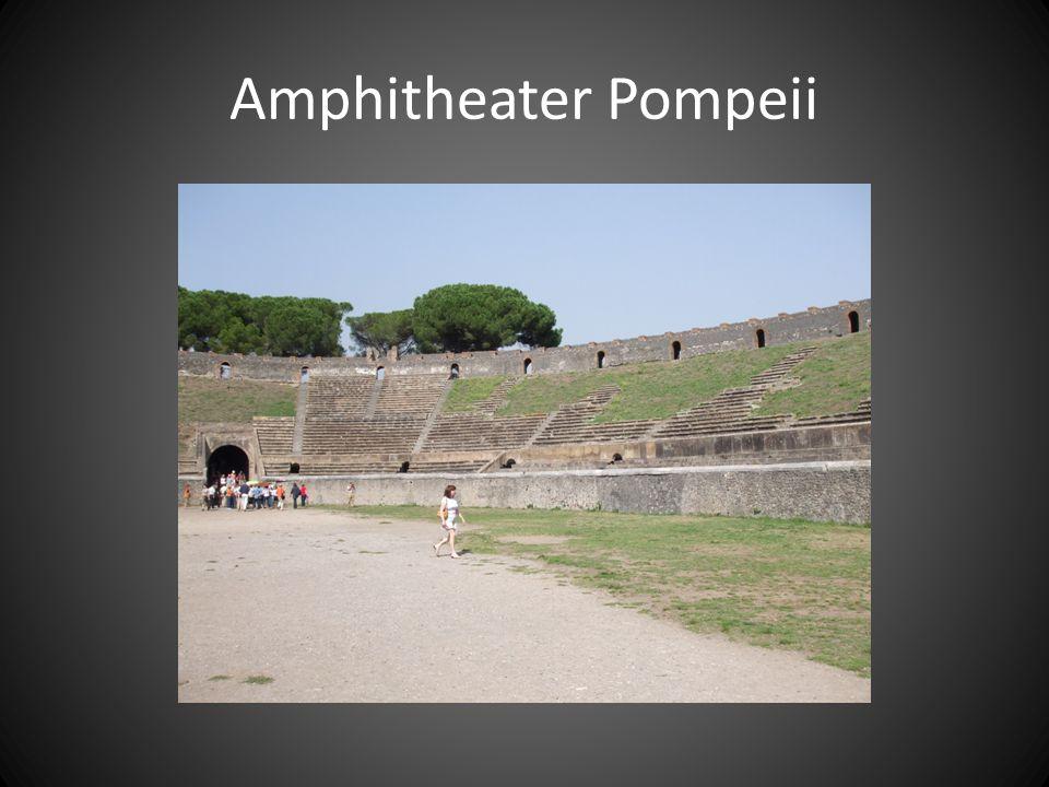 Amphitheater Pompeii