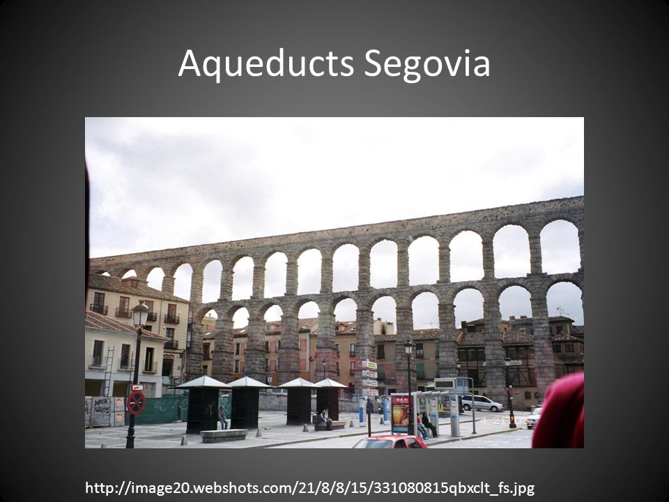 Aqueducts Segovia http://image20.webshots.com/21/8/8/15/331080815qbxclt_fs.jpg