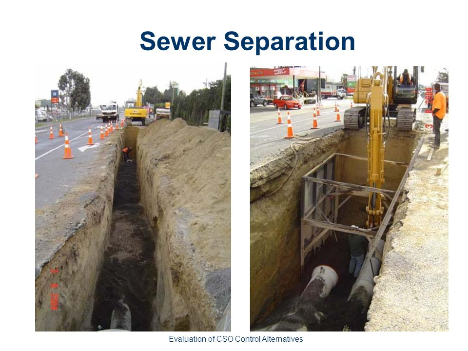 Sewer Separation Evaluation of CSO Control Alternatives