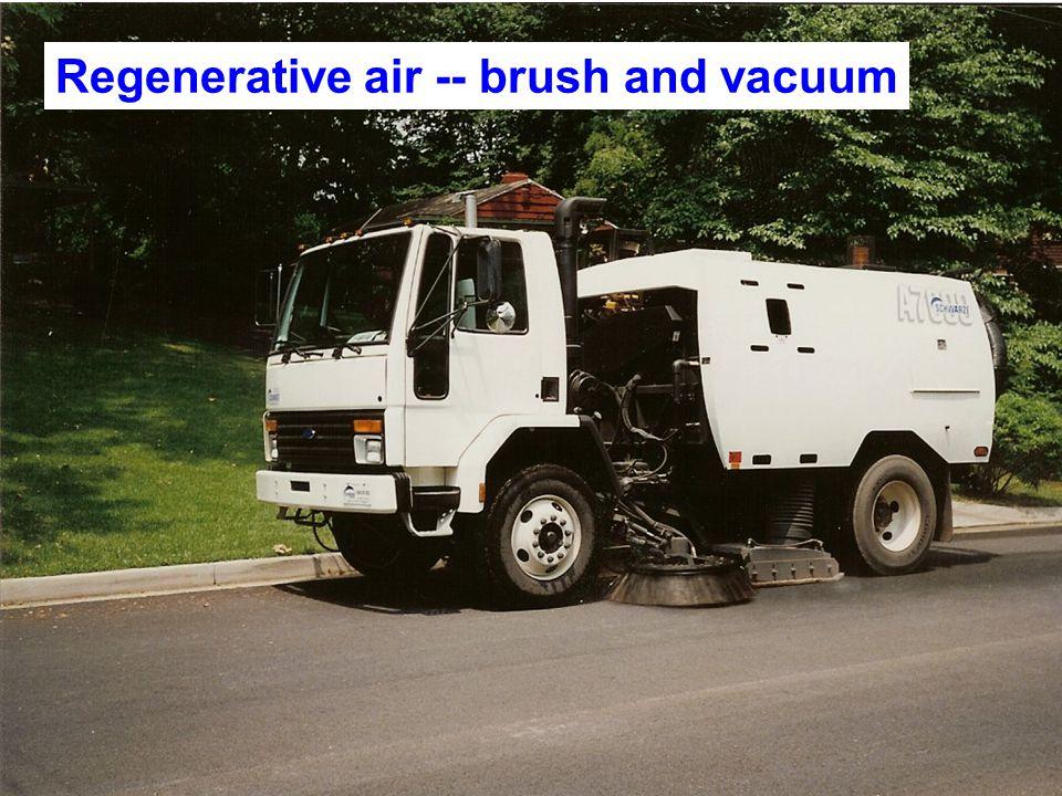 Regenerative air -- brush and vacuum