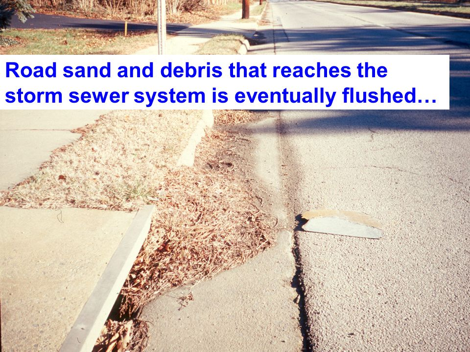 Ideally every road in Fairfax County should be swept a minimum of 4 times per year.