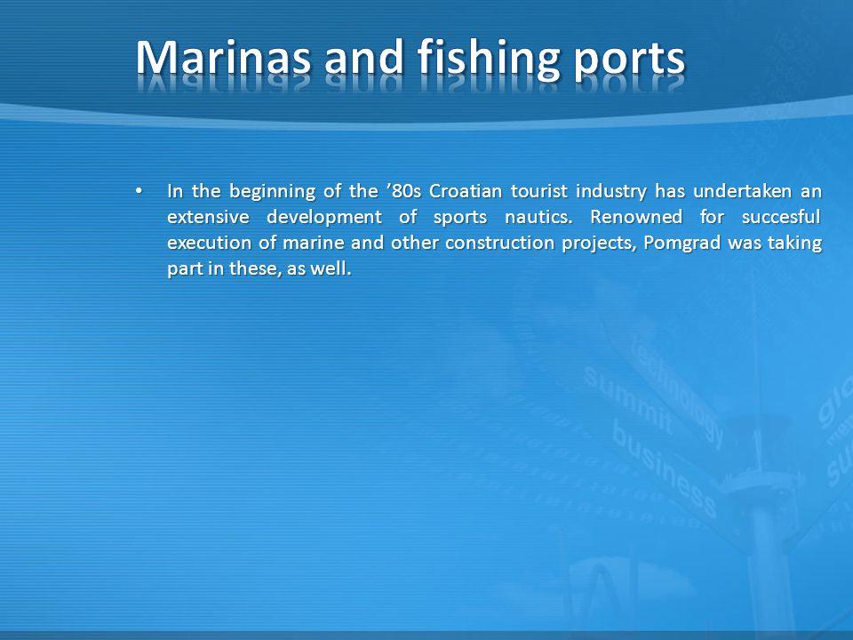 In the beginning of the '80s Croatian tourist industry has undertaken an extensive development of sports nautics.