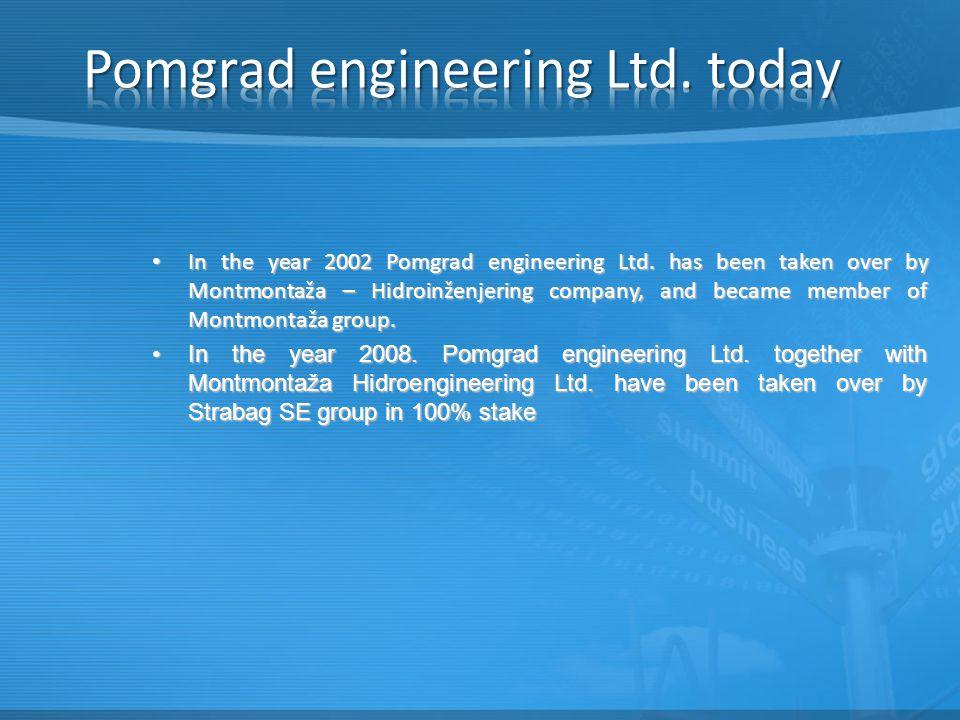 In the year 2002 Pomgrad engineering Ltd.