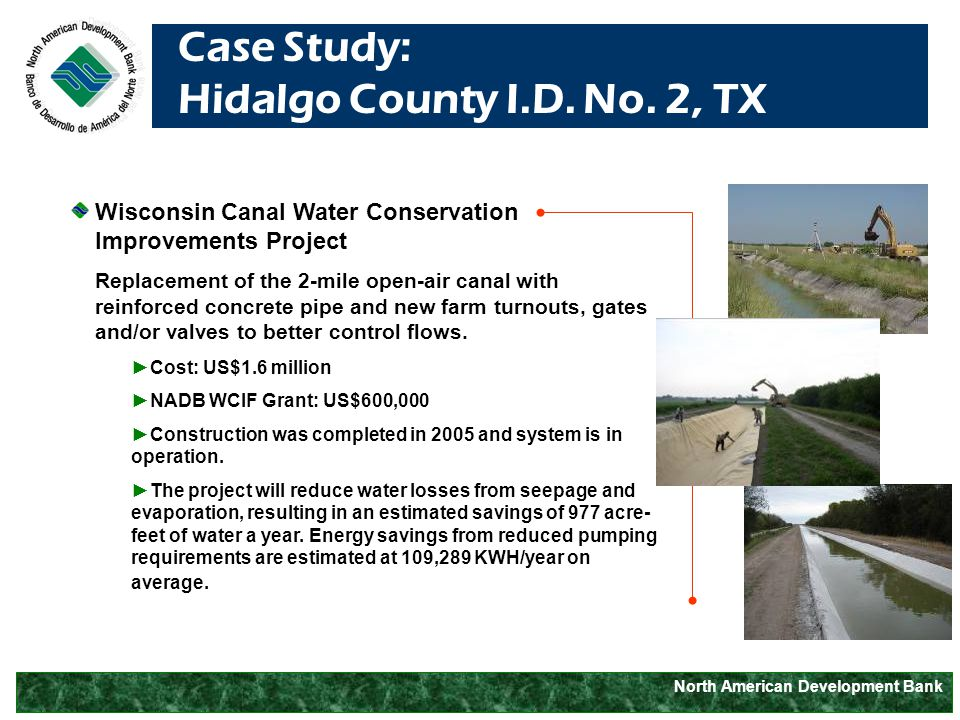 North American Development Bank Case Study: Hidalgo County I.D.