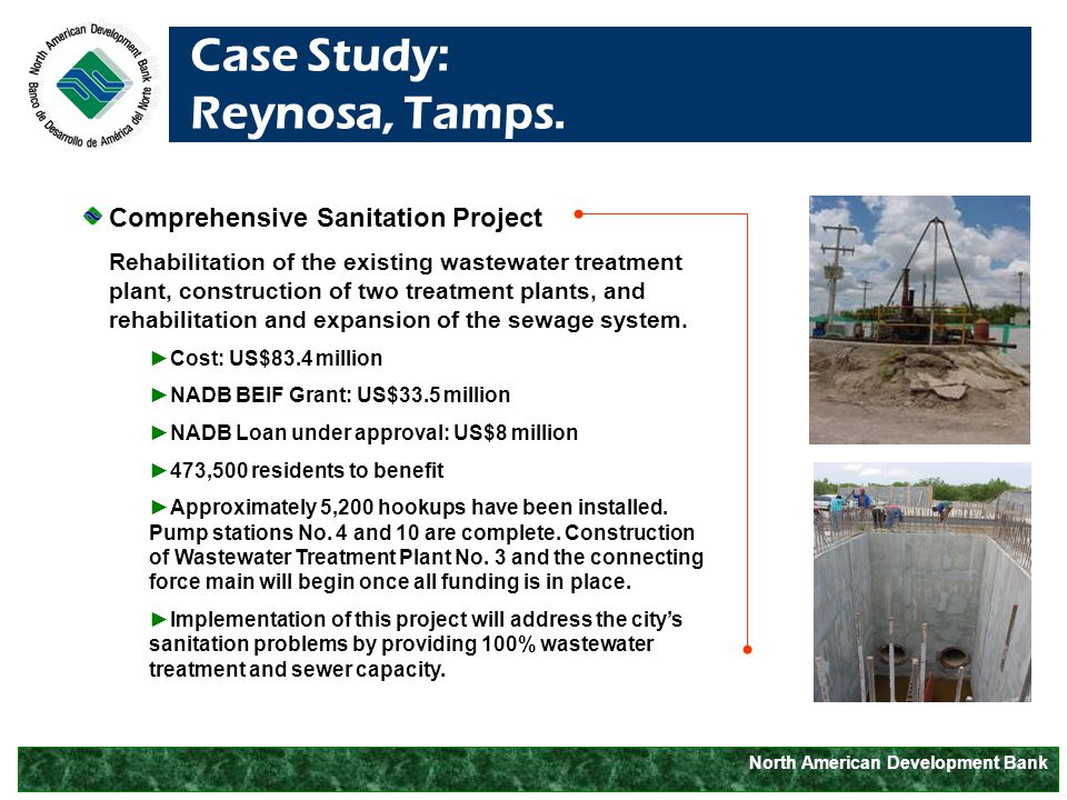 North American Development Bank Case Study: Reynosa, Tamps.