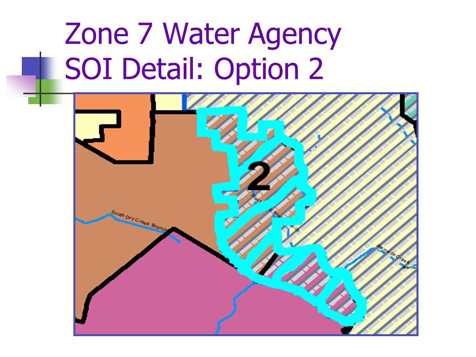 Zone 7 Water Agency SOI Detail: Option 2
