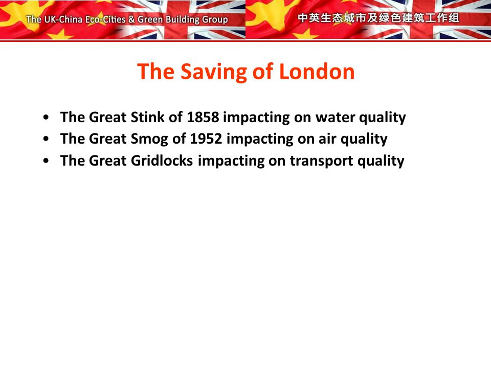 The Polluting of the Thames 1800 The Thames was acknowledged as the most contaminated and unhygienic river in the world 1848 Sewers Act mandated that all 30,000 London cesspools should be connected to the Thames 1851 Great Exhibition popularised water closets 1855 the famous physicist Michael Faraday declared that the Thames was nothing more than a real open sewer.