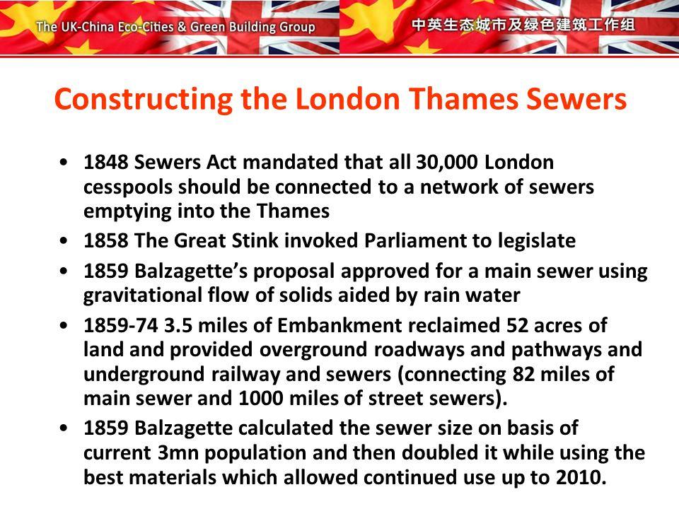 The London Thames Embankments