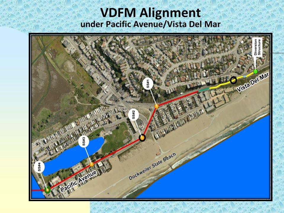 VDFM Alignment under Pacific Avenue/Vista Del Mar