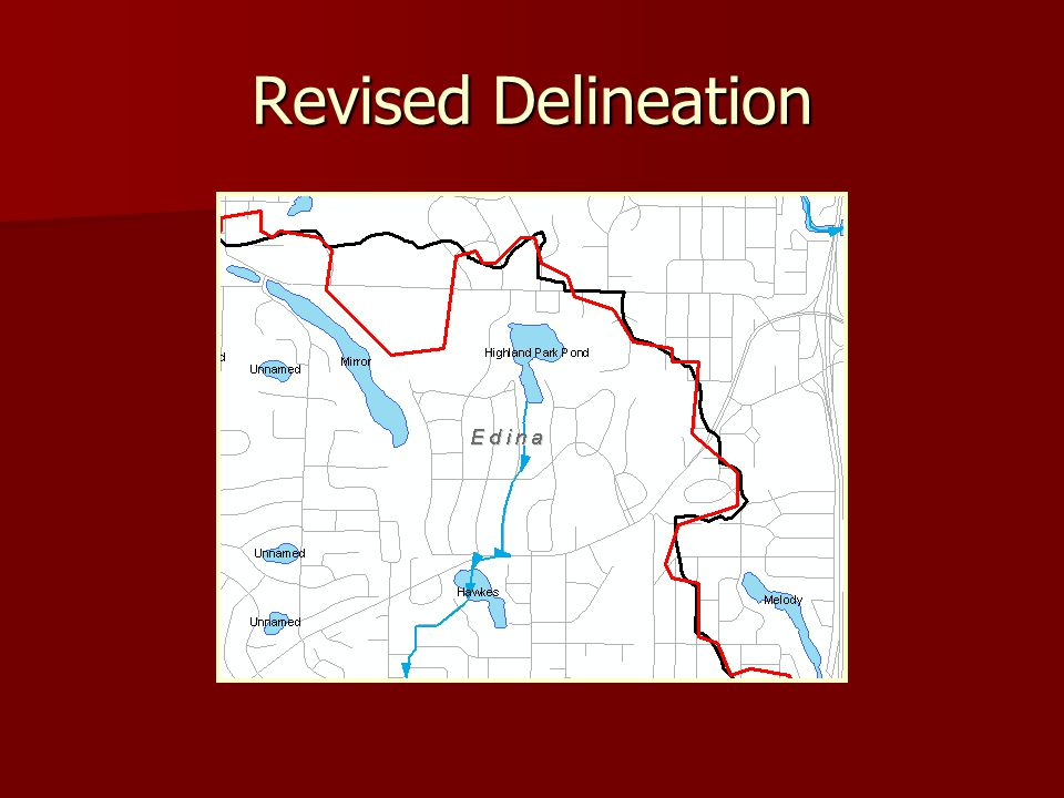 Revised Delineation