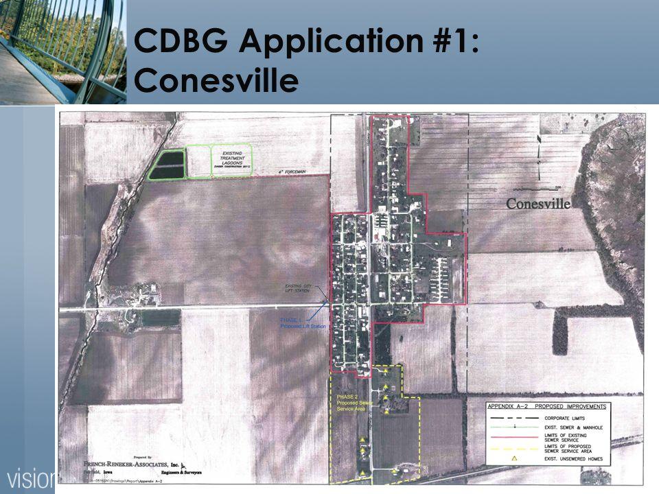 13 CDBG Application #1: Conesville