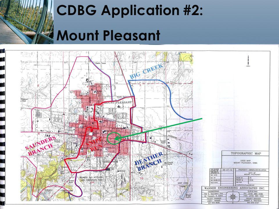 18 CDBG Application #2: Mount Pleasant