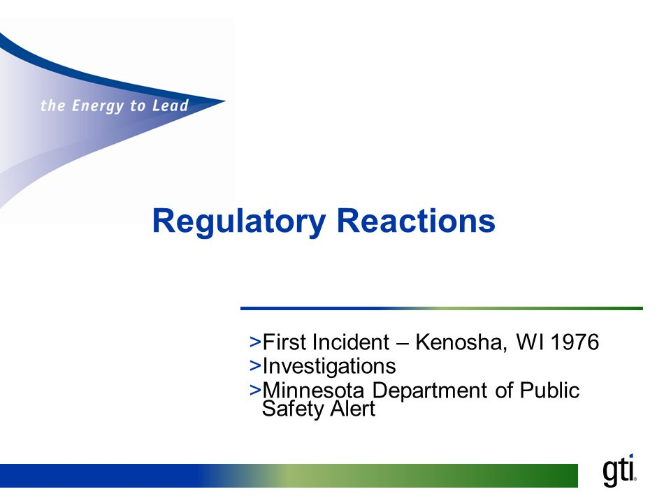 Regulatory Reactions >First Incident – Kenosha, WI 1976 >Investigations >Minnesota Department of Public Safety Alert