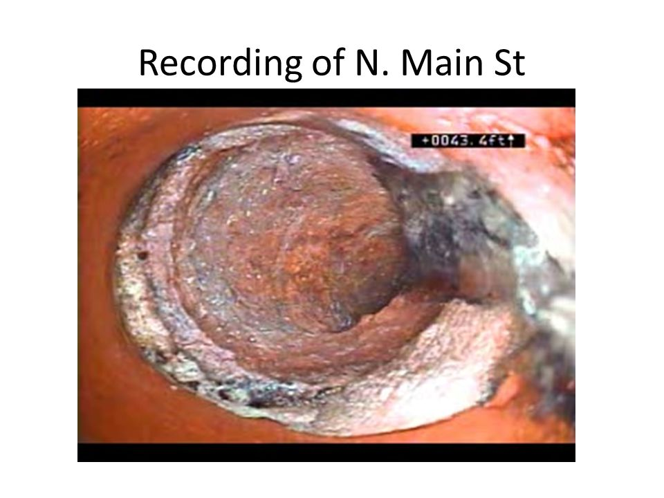 Recording of N. Main St