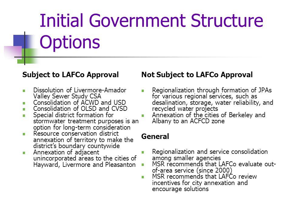 Oro Loma Sanitary District SOI Detail: Option 2