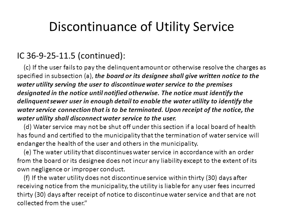 Wastewater Lien Process If a purchaser of property provides a verified demand stating: delinquent fees were not incurred by the purchaser as a user, lessee, or previous owner; and the purchaser has not been paid by the seller for the delinquent fees, a lien filed after the property has changed hands must be released and the delinquent fees written off.