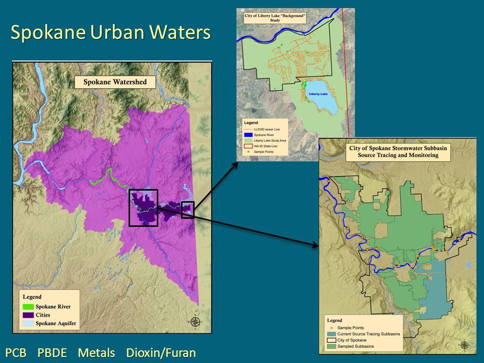 Spokane Urban Waters PBDEMetalsDioxin/FuranPCB
