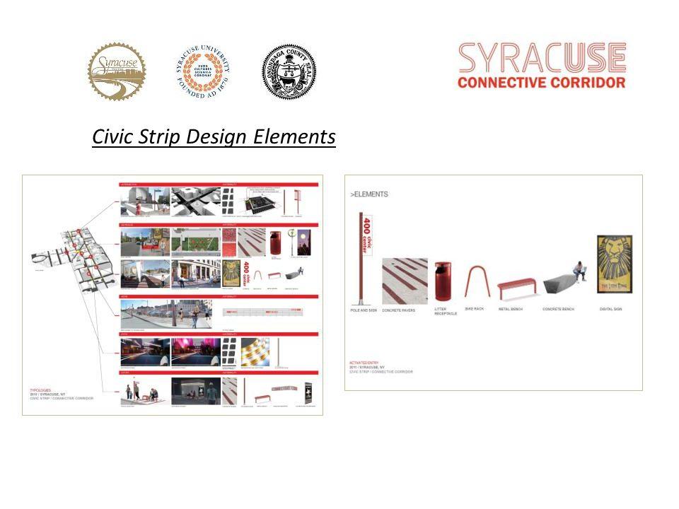 Civic Strip Design Elements