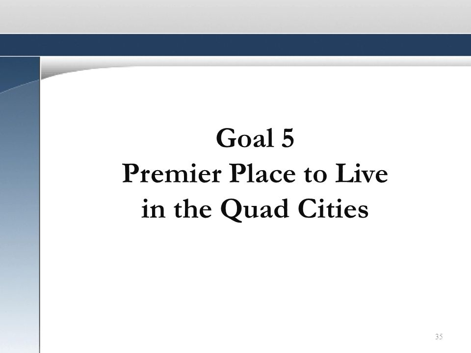 35 Goal 5 Premier Place to Live in the Quad Cities