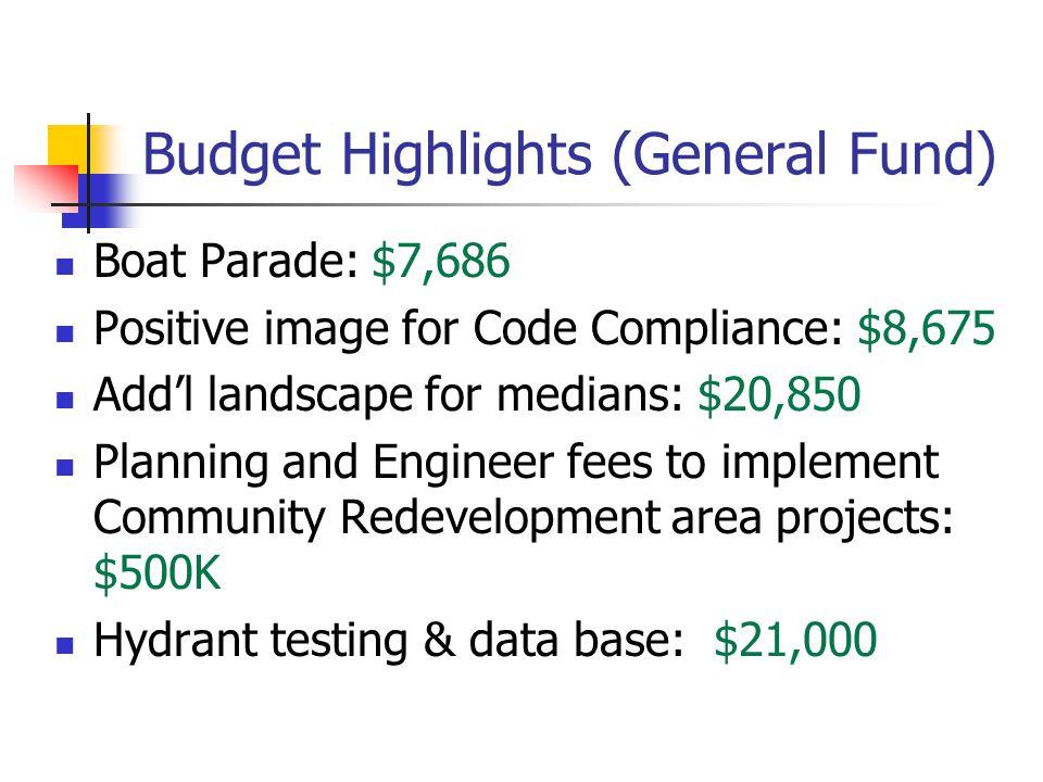 Budget Balance at ………….