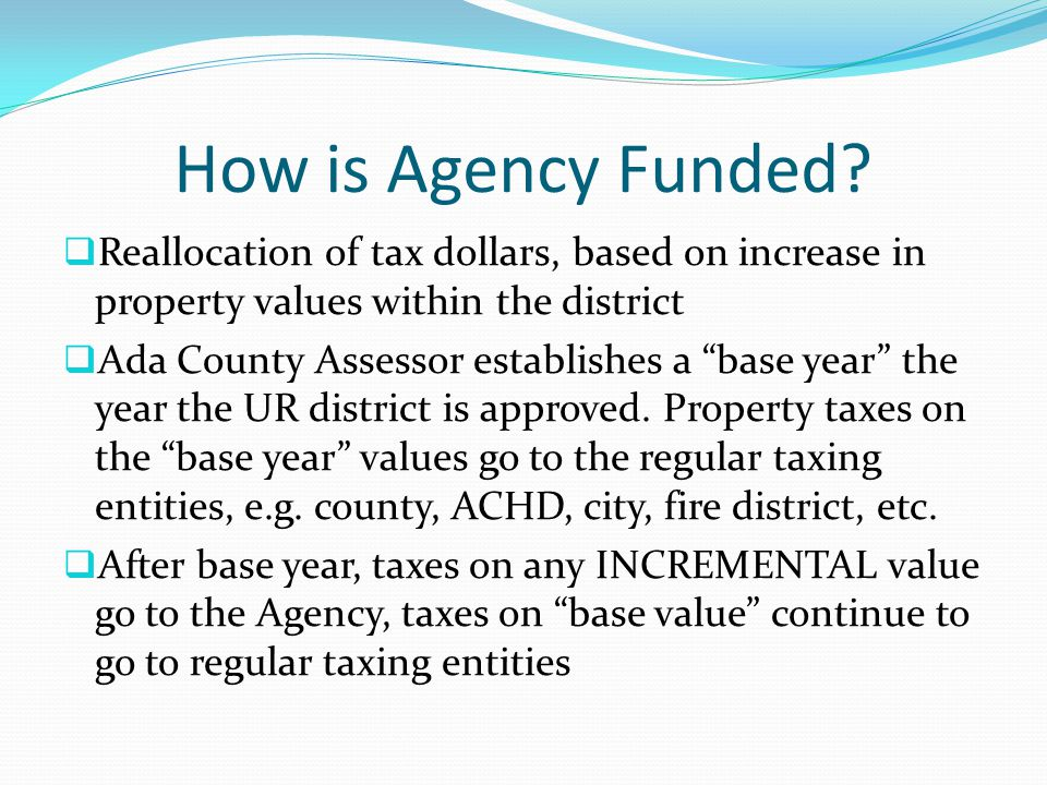 How is Agency Funded.