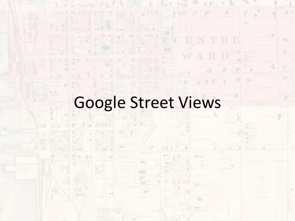 Google Street Views