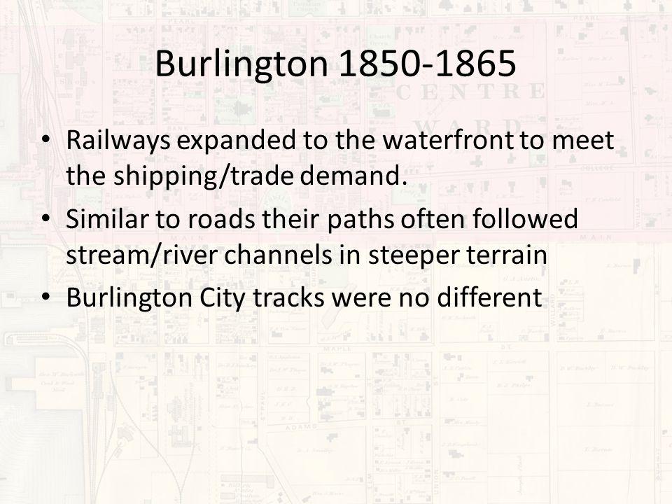 Landscape Comparisons (Burlington Waterfront 2008 vs.