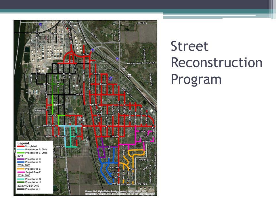 Street Reconstruction Program