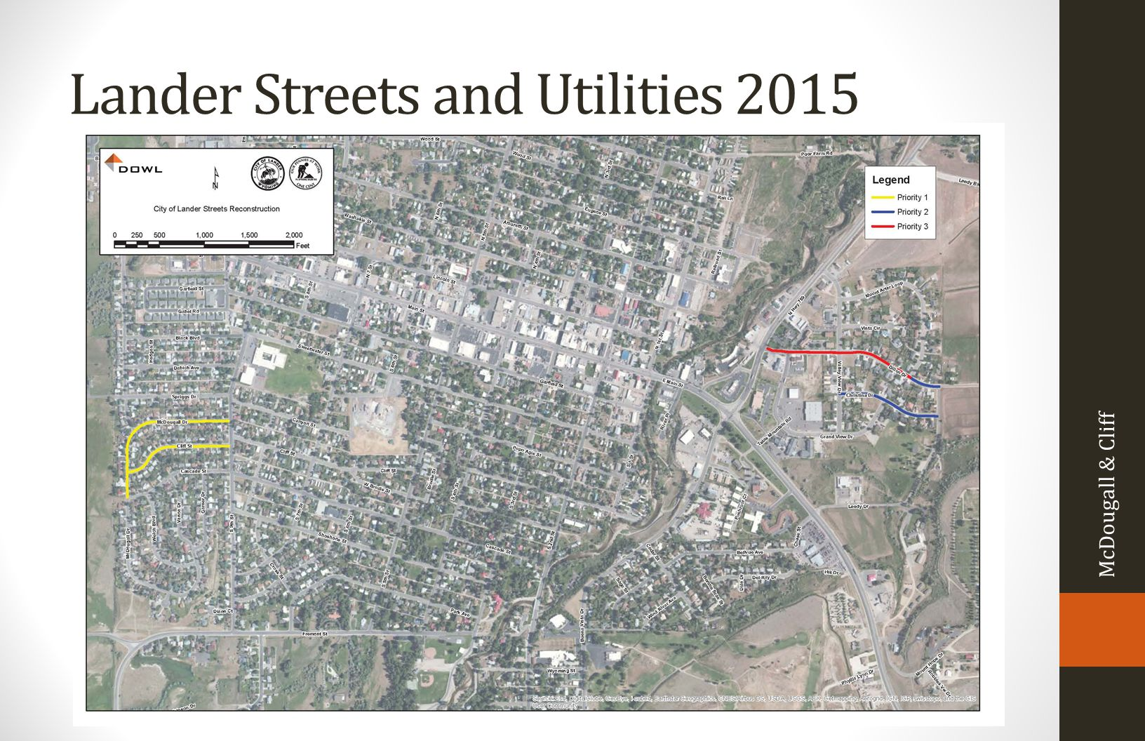 Lander Streets and Utilities 2015 McDougall & Cliff