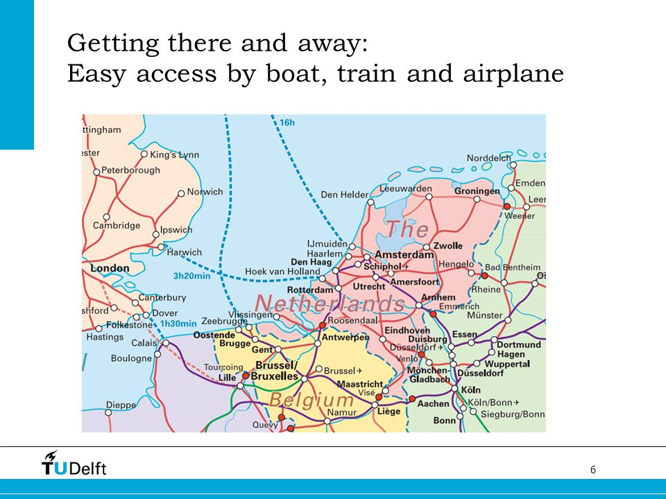 6 Getting there and away: Easy access by boat, train and airplane