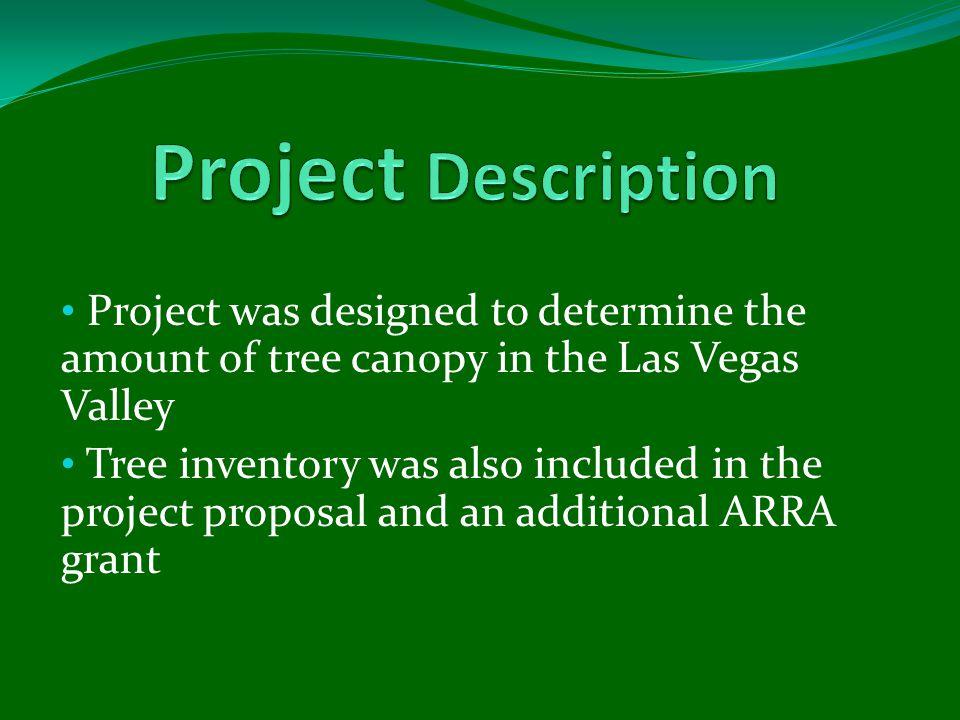Did a CityGreen analysis-using the boundaries for: Las Vegas Henderson North Las Vegas