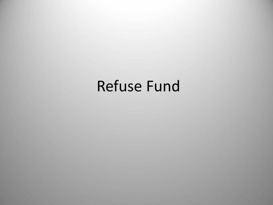 Refuse Fund