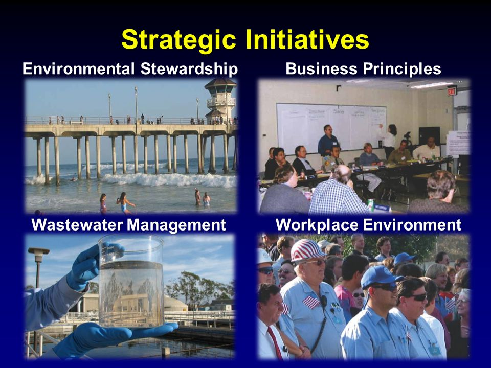 Strategic Initiatives Environmental Stewardship BusinessPrinciples Business Principles Workplace Environment Wastewater Management