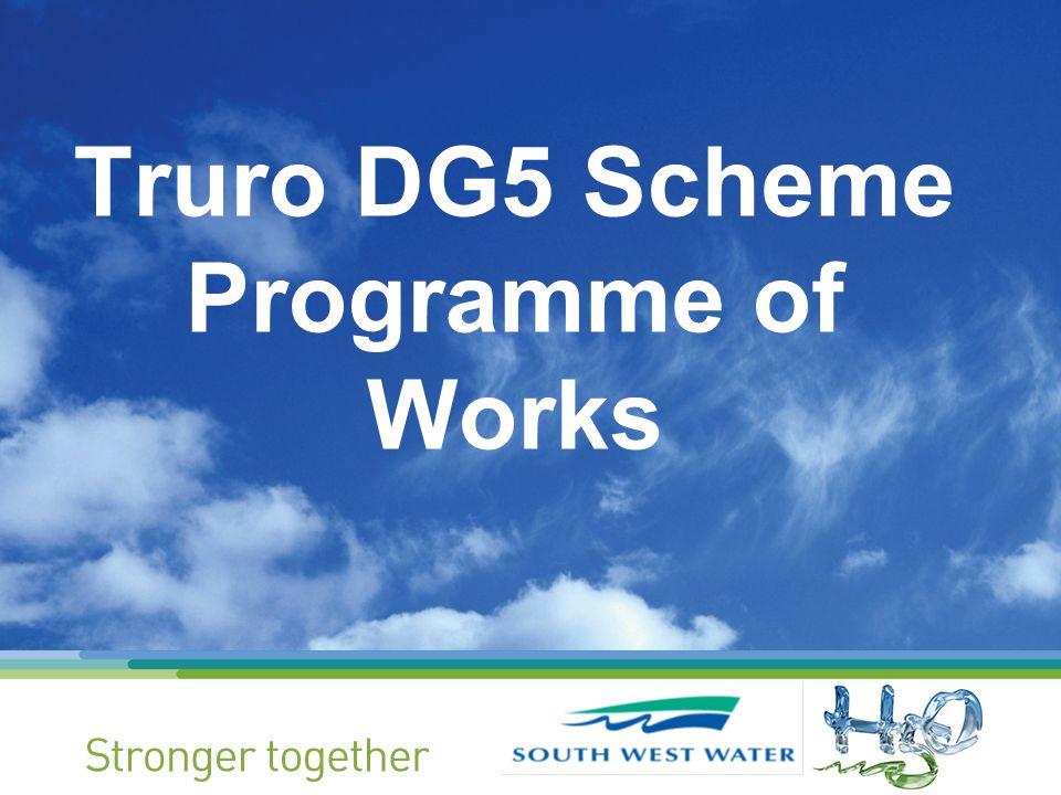 Truro DG5 Scheme Programme of Works