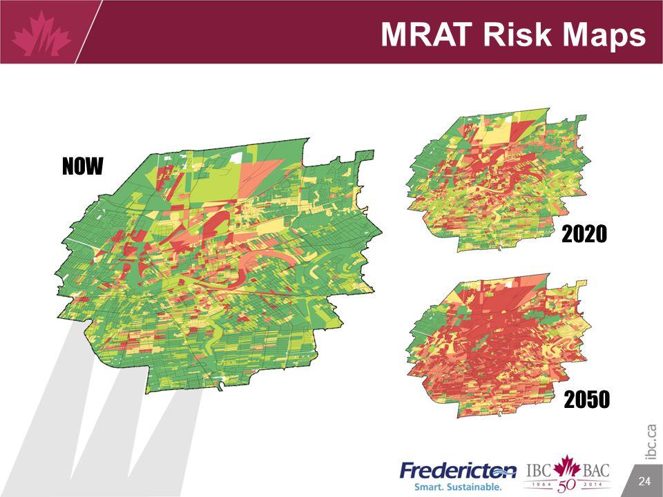 24 MRAT Risk Maps 2020 NOW 2050