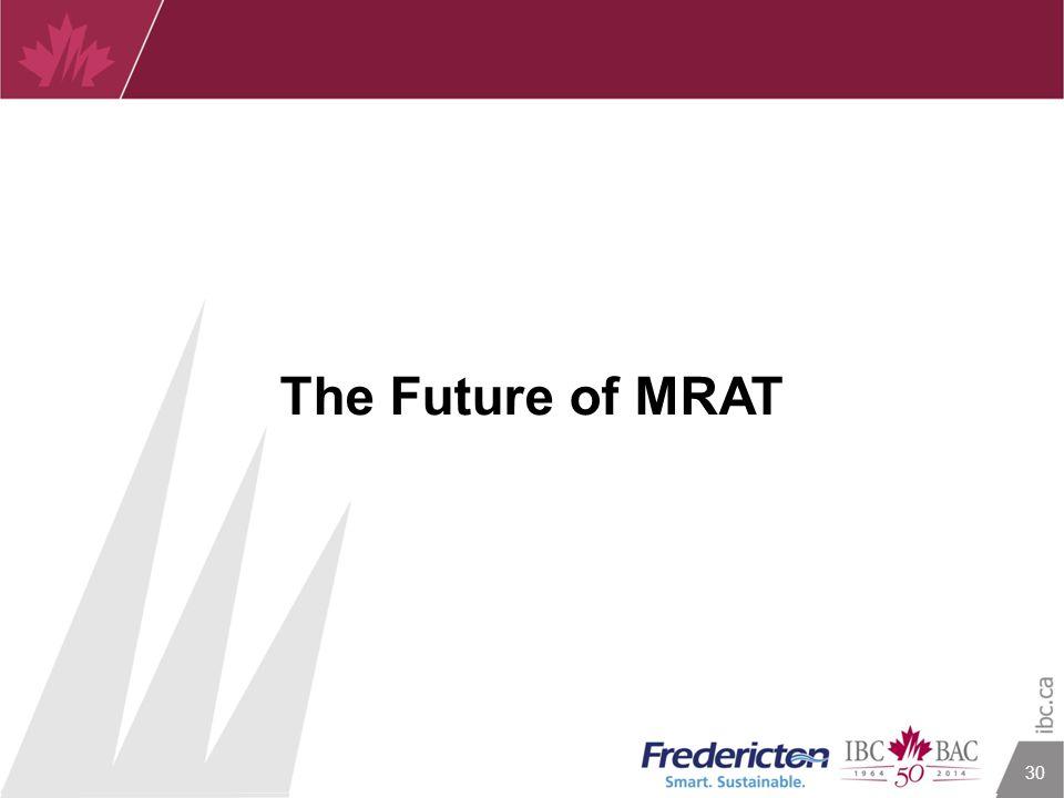 30 The Future of MRAT
