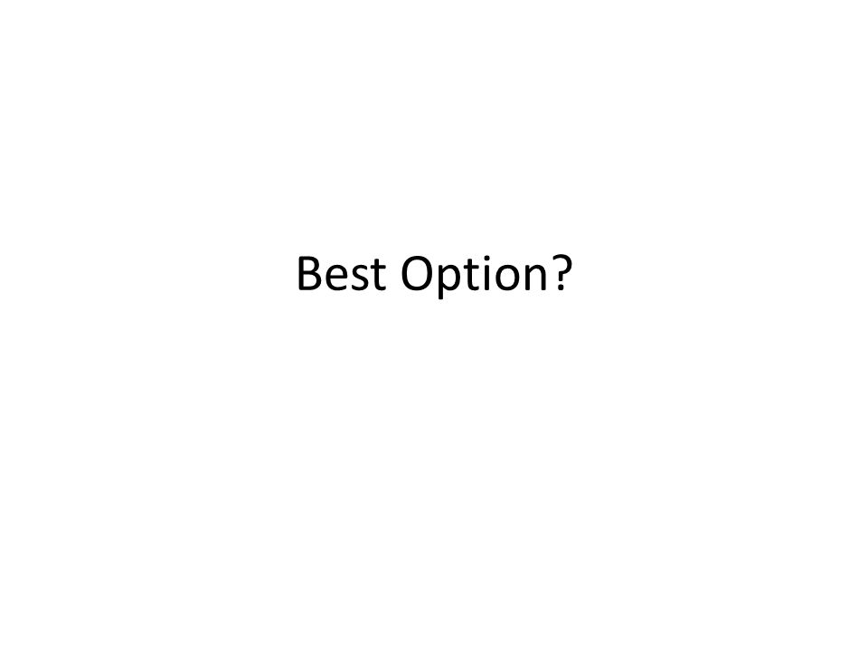 Best Option