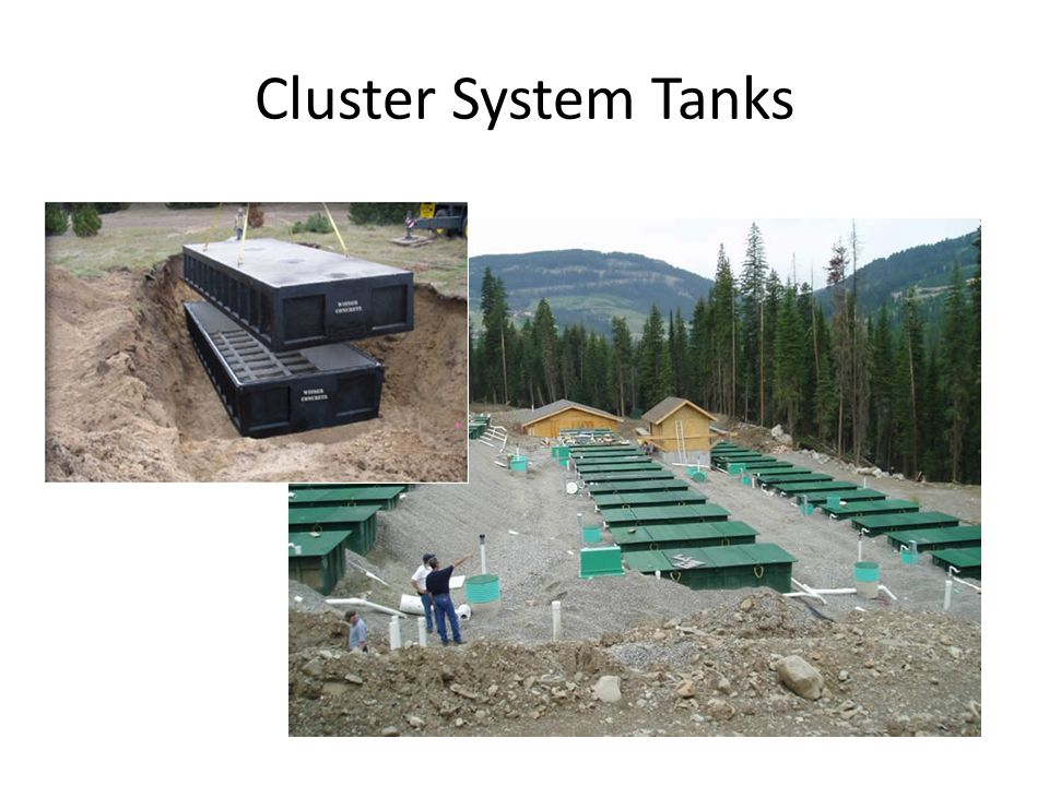 Cluster System Tanks
